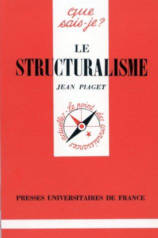Download Le Structuralisme