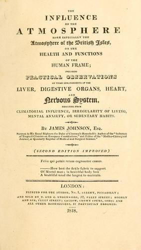 Download The influence of civic life, sedentary habits, and intellectual refinement, on human health, and human happiness