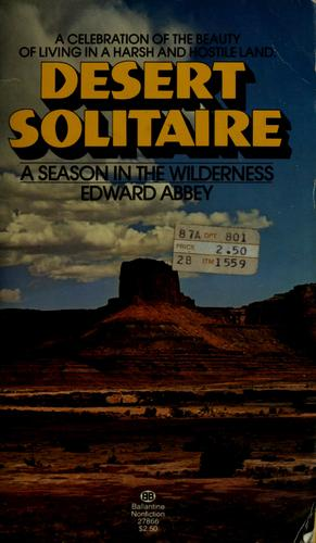 Download Desert solitaire