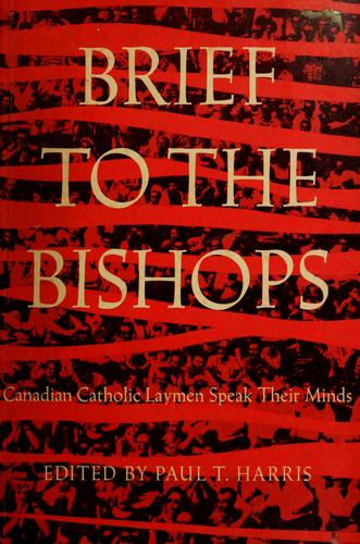 Brief to the bishops