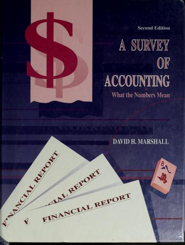 Download A survey of accounting