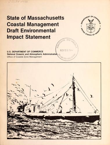 Download State of Massachusetts coastal management draft environmental impact statement.