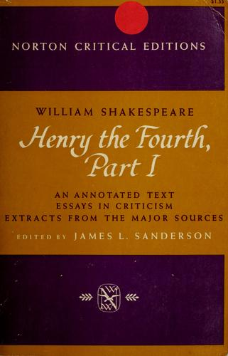 Download Henry the Fourth, part I