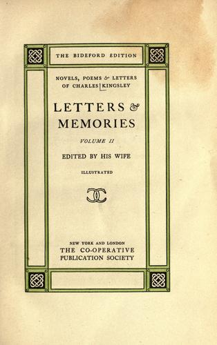 Download Letters and memories