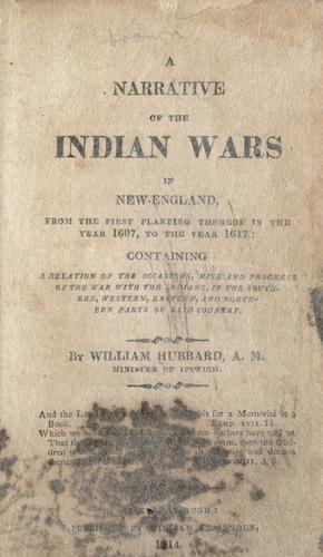 Download A narrative of the Indian wars in New-England