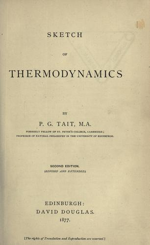 Download Sketch of thermodynamics.