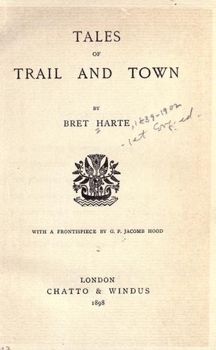 Download Tales of trail and town