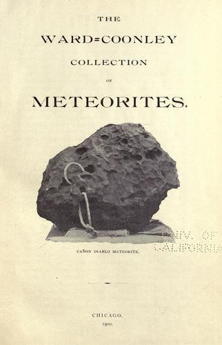 Download The Ward=Coonley collection of meteorites