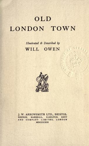 Download Old London town.