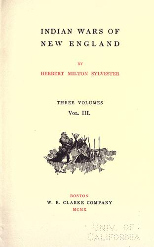 Download Indian wars of New England