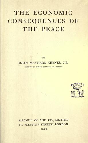 Download The economic consequences of the Peace.