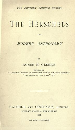 Download The Herschels and modern astronomy