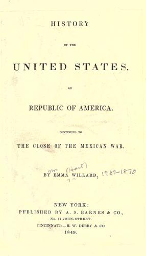 History of the United States, or Republic of America