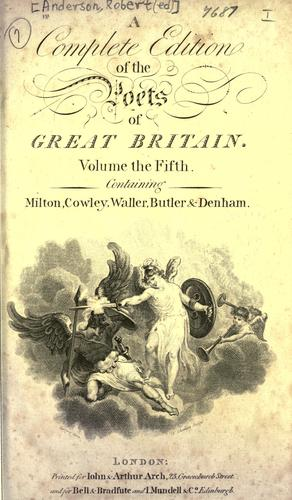 Download The works of the British poets.
