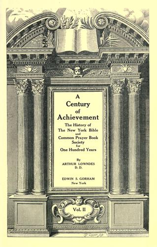 A century of achievement