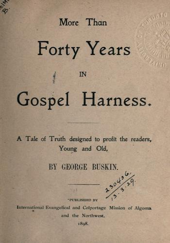More than forty years in Gospel harness