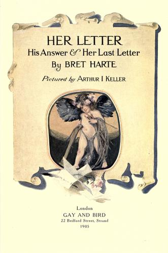 Download Her letter, his answer & her last letter