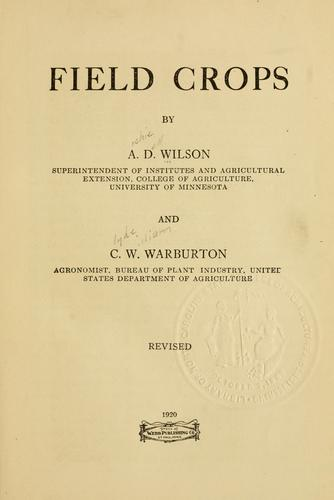 Download Field crops