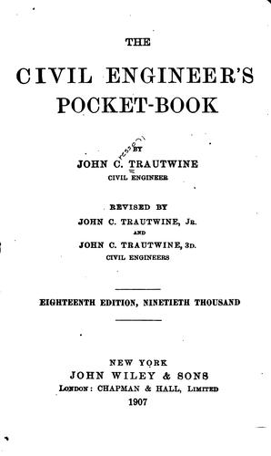The civil engineer's pocket-book