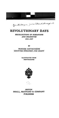 Download Revolutionary days