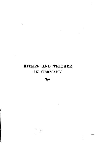 Download Hither and thither in Germany