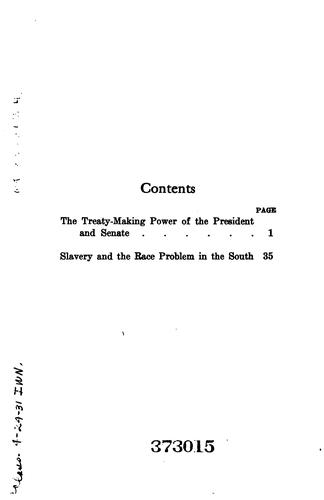 Treaty-making power