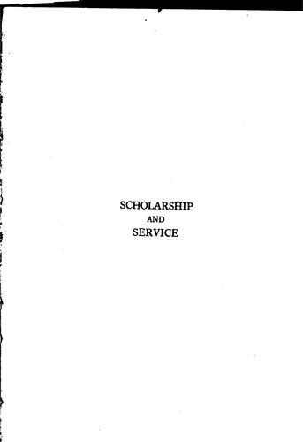 Download Scholarship and service