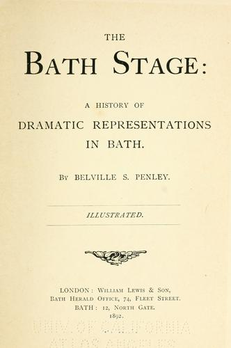 The Bath stage