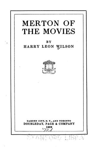 Download Merton of the movies