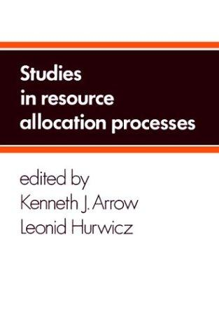 Download Studies in resource allocation processes