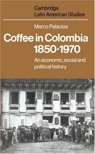 Coffee in Colombia, 18501970