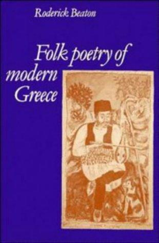 Download Folk poetry of modern Greece