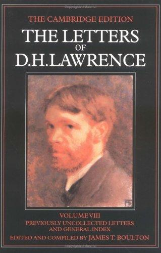 Download The letters of D. H. Lawrence