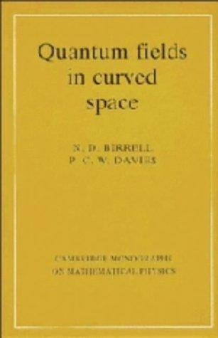 Download Quantum fields in curved space