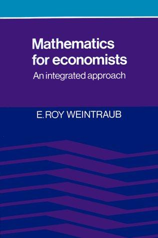 Download Mathematics for Economists
