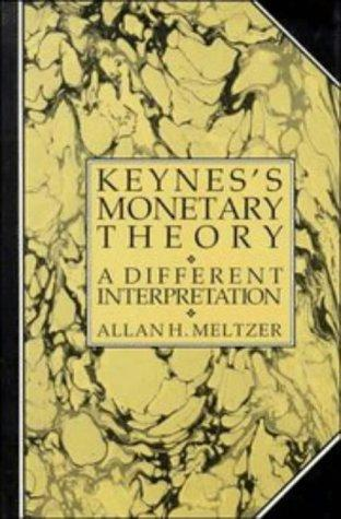Download Keynes's Monetary Theory