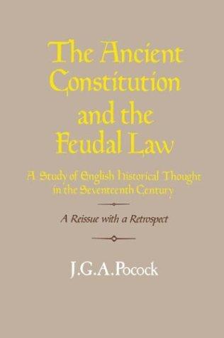 Download The ancient constitution and the feudal law