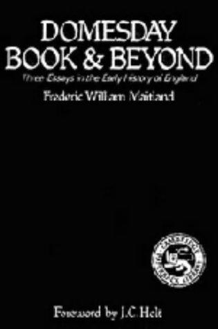 Download Domesday Book and Beyond