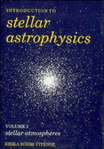 Download Introduction to Stellar Astrophysics
