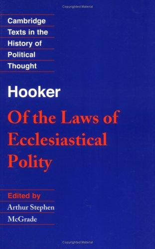 Download Of the laws of ecclesiastical polity