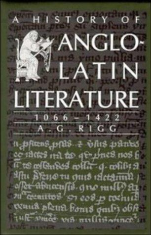 Download A History of Anglo-Latin Literature, 10661422