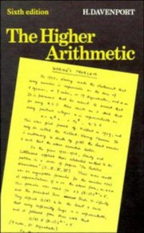 Download The higher arithmetic