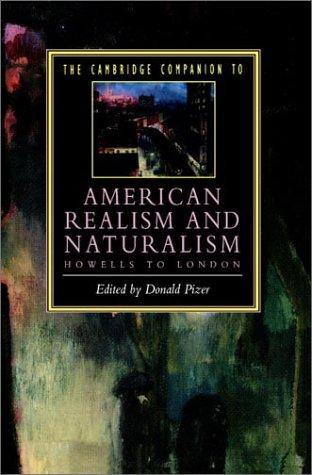 Download The Cambridge Companion to American Realism and Naturalism