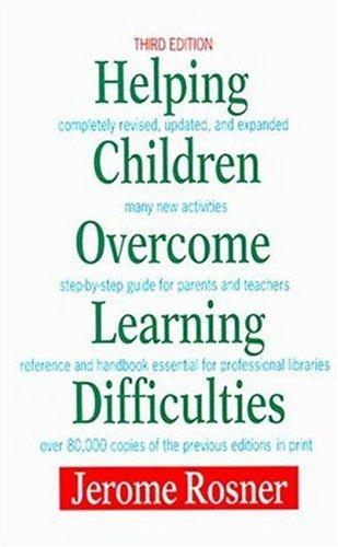 Download Helping children overcome learning difficulties