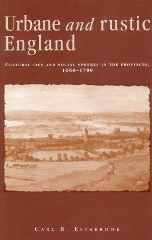 Urbane and rustic England