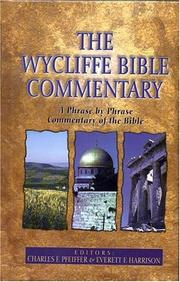 Wycliffe Bible Commentary [Hardcover] by Harrison, Everett