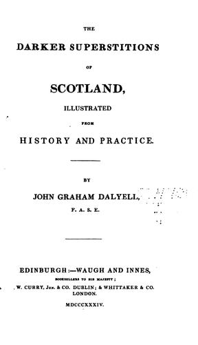 Download The darker superstitions of Scotland