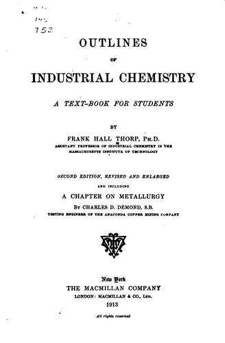 Outlines of industrial chemistry