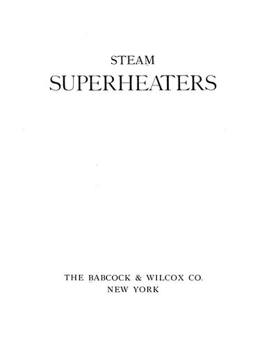 Download Steam superheaters.