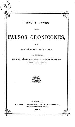 Download Historia crítica de los falsos cronicones